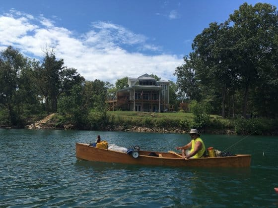 arthur heading off for 2 weeks in missouri. Quick Canoe builds in a couple of weekends. Cheaper than hiring! storer boat plans