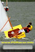 Simplest sailing boat with exclellent performance OzRacer