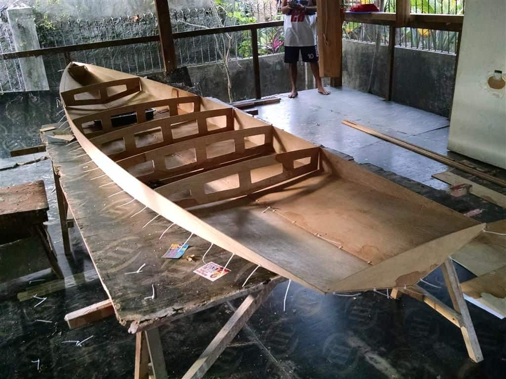 Taal SUP - full slideshow of building the Taal stand up Paddleboard - Storer Boat Plans in Wood ...