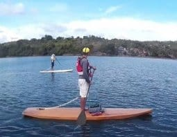 lightweight simple plywood SUP - stand up Paddleboard - storerboatplans.com