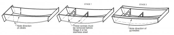 Oz Goose simple assembly - storer boat plans