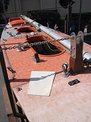 Turning a slow boat into a quick raceboat by optimising keel rig and hull. The Orange Boat Project: storerboatplans.com
