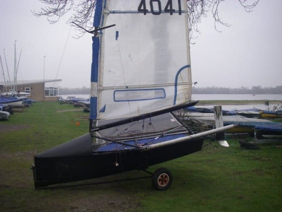 rudder t foil on moth to stop nosediving