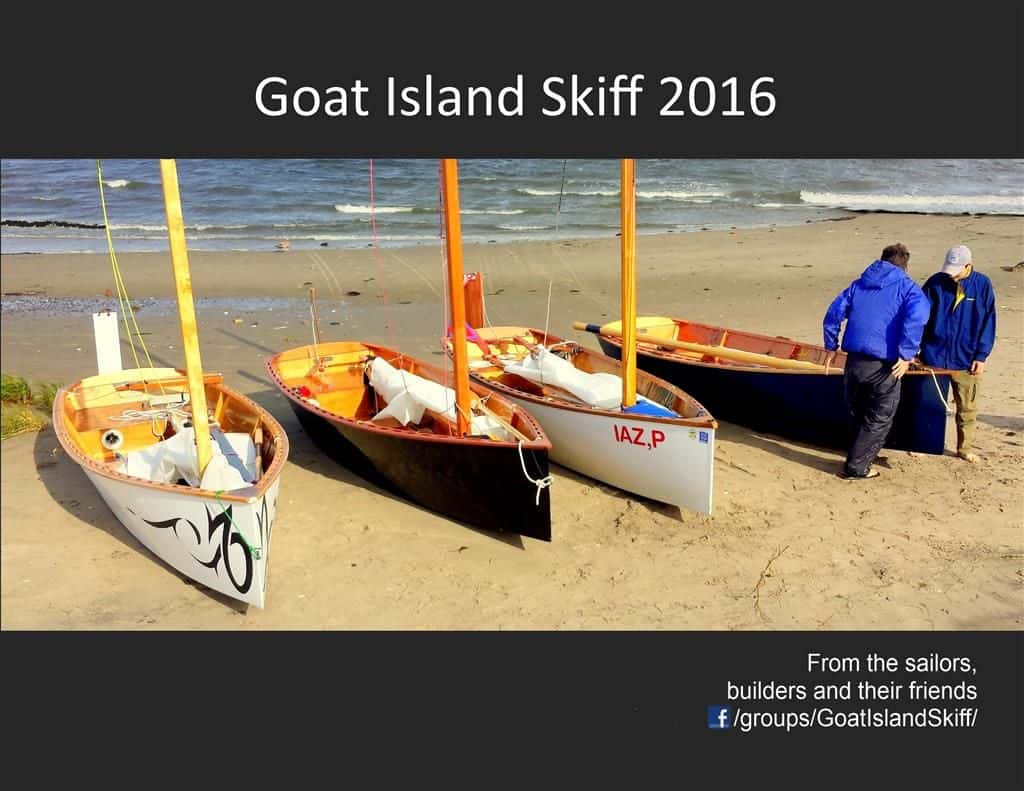 2016 Goat Island Skiff Boat and Sailing Calendar Cover