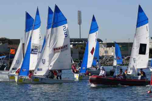Teams sailing in Australian Schools grows sailing