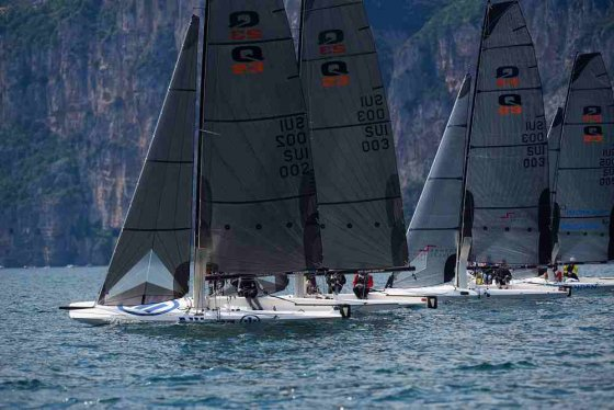 quant 23 for relaxed foiling
