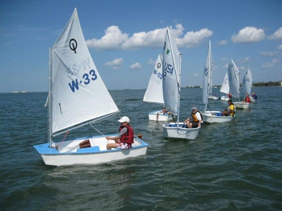 optimist dinghies are too expensive in most countries