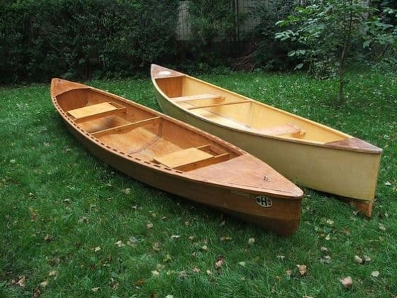 Two Plywood Canoes Designs How To Choose A Plan Storer Boat