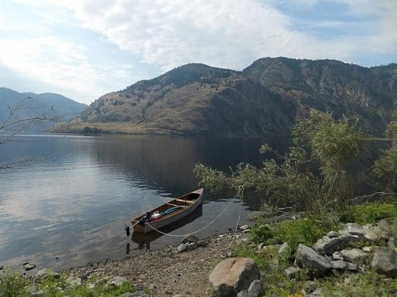 Electric powered canoe - roofrackable - 6mph with an electric trolling motor - storer boat plans