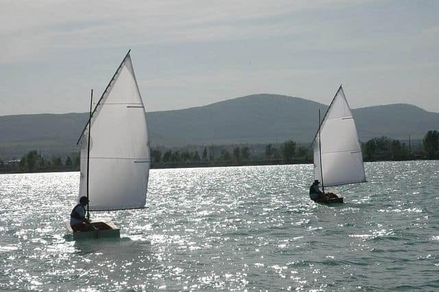 OzRacer sails in Hungary