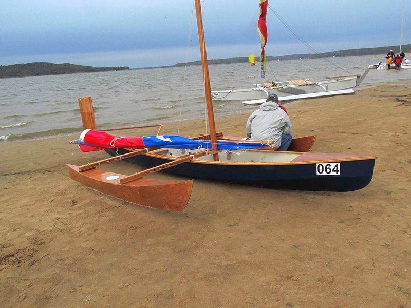 Outriggers on canoes and sailboat- Proas, Trimarans, even Catamarans. - Storer Boat Plans in ...