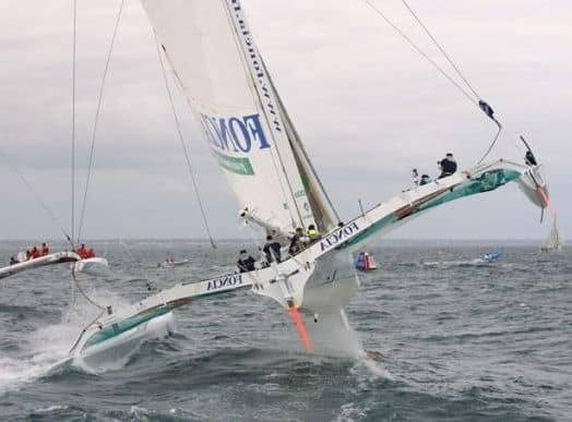 Multihulls make swinging keelers look like ineffective toys. And don't need motors running to tack.
