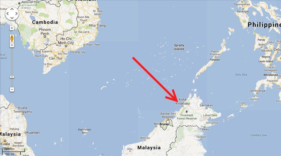 map kota kinabalu - article on indigenous wooden boats