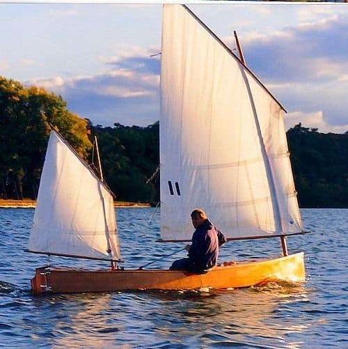 article on storer boat plans : plywood and timber sail rowing power fishing and canoes