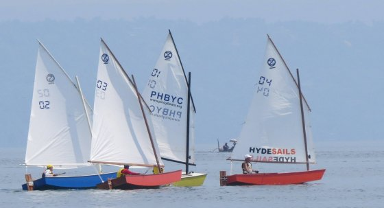 Racing for some - Learn to sail - Manila Phlippines Batangas Lake Taal