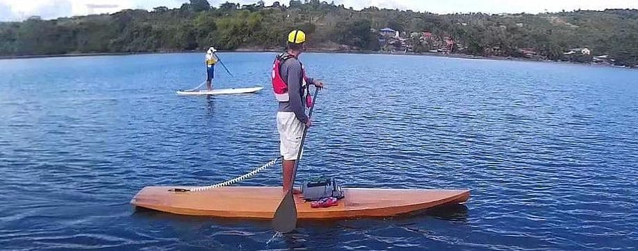 SUP - stand up paddleboarding - Learn to sail - Manila Phlippines Batangas Lake Taal