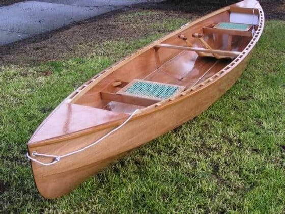 Eureka 155 Canoe Plans Pretty Lightweight Touring Plywood Canoe