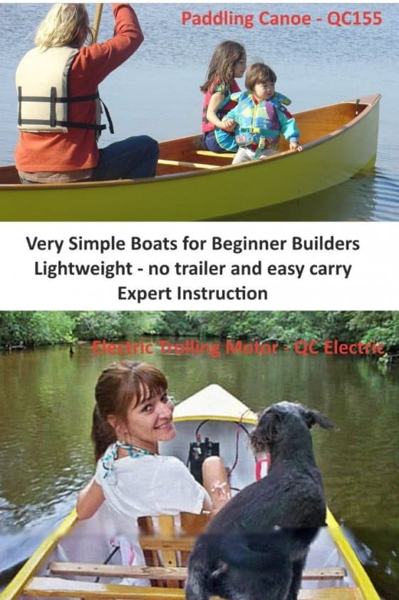 Kits for Michael Storer Canoe designs usa easy assembly full instructions. storerboatplans.com
