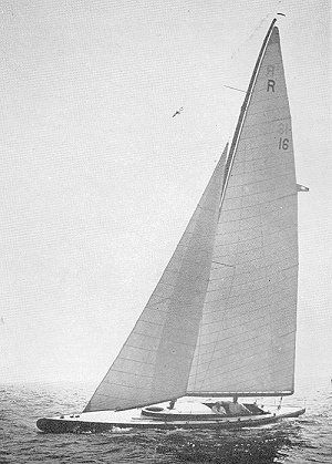 Francis Herreshoff's Live Yankee R class drove a truck through the rules. And how to join plywood properly. storerboatplans.com
