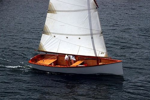 Goat Island Skiff is easy to build sails with one to four adults and is quick and beautiful: storerboatplans.com