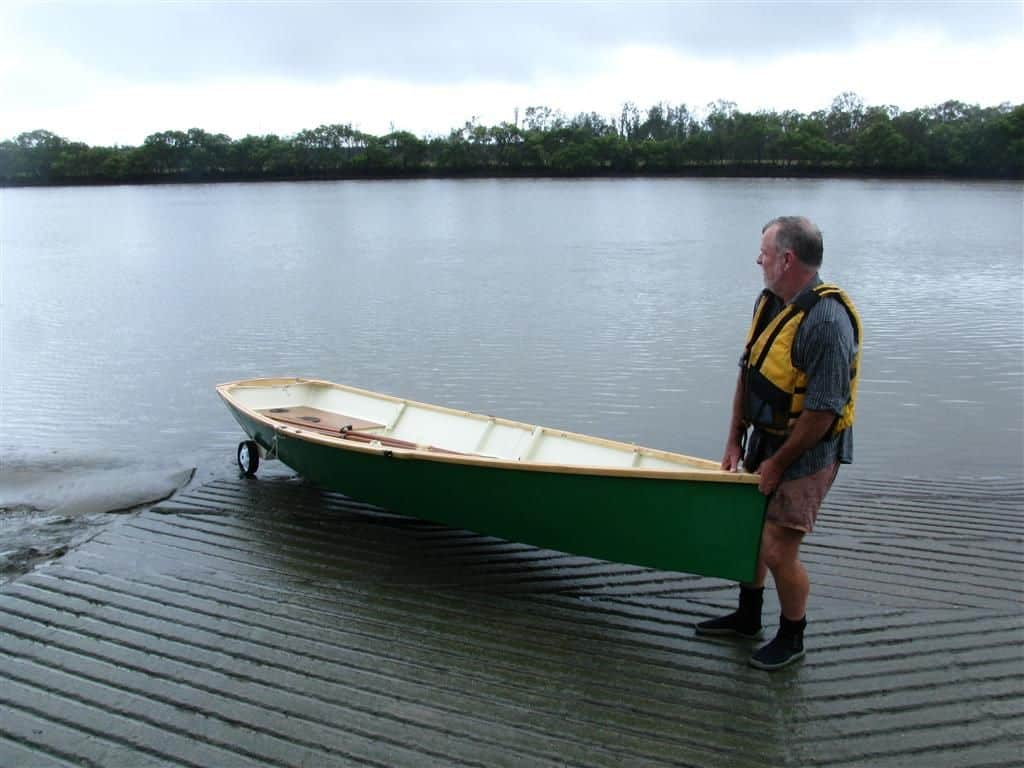 MSD plywood rowboat plan. Pretty and easy to move around. storerboatplans.com