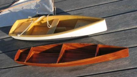 15 1/2 ft Rowboat - easy, pretty, plywood Rowboat Plan - Storer Boat Plans in Wood and Plywood