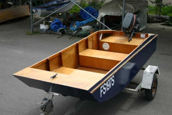 Handy Punt Plan - Light Cartop Outboard Dinghy for Fishing, RVs and Caravanning - Storer Boat ...