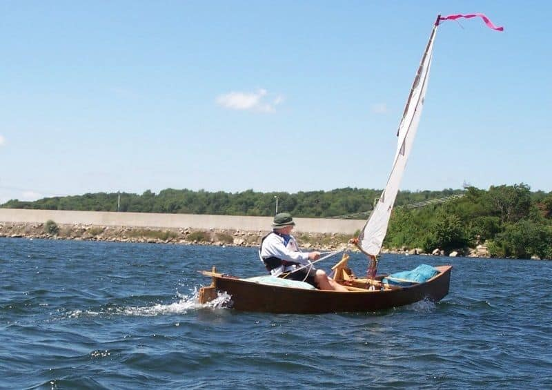 Put A Sail On A Canoe Or Kayak Drop In Sailing Rig Plan