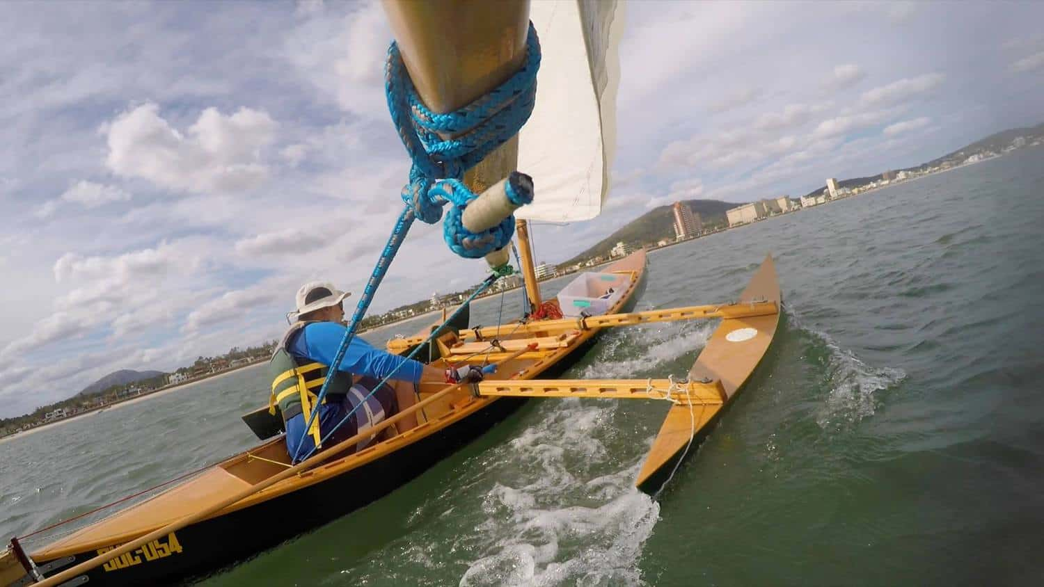 Drop-in Outrigger Plan for Canoes & Kayaks (some dinghies) Sailing Videos - Storer Boat Plans in ...