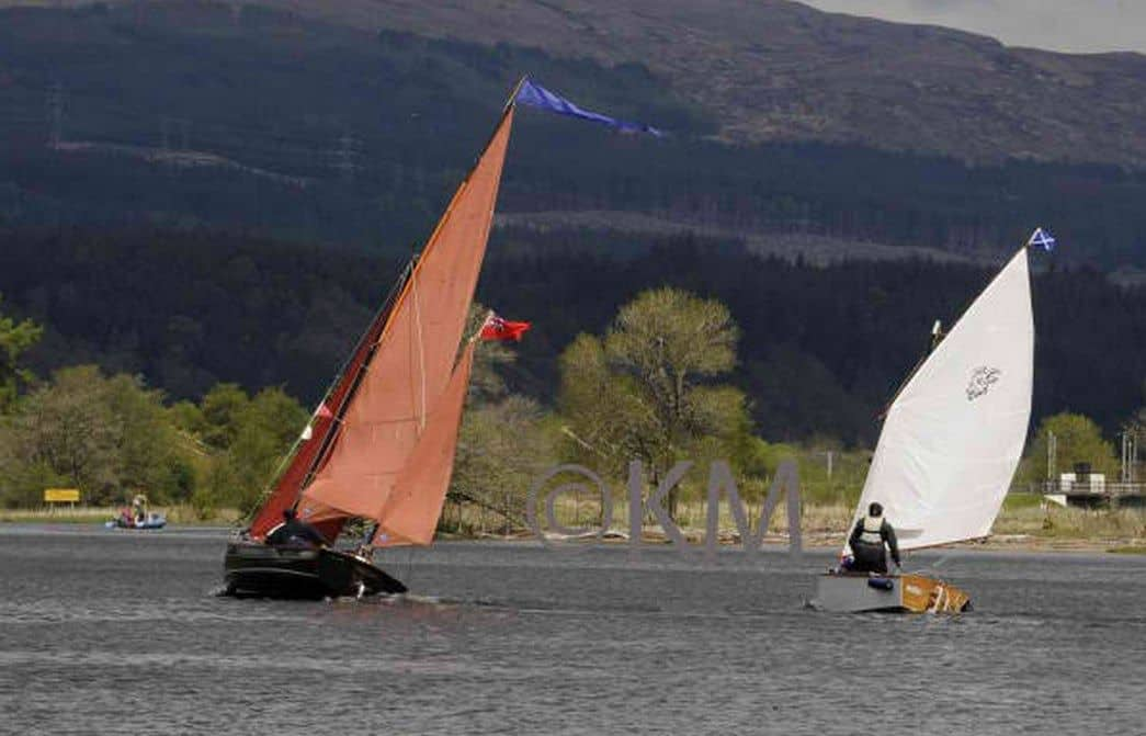 RAID event with Goat Island Skiff in Scotland. storerboatplans.com