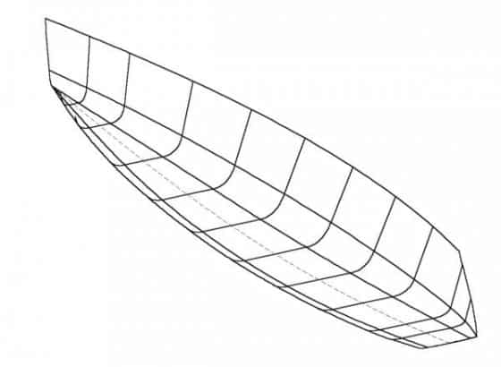 An idea for a plywood keelboat for racing. Shallow draft.Turning a slow boat into a quick raceboat by optimising keel rig and hull. The Orange Boat Project: storerboatplans.com