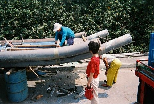 bamboo boat tech in the industrial age. Taiwan: storerboatplans.com