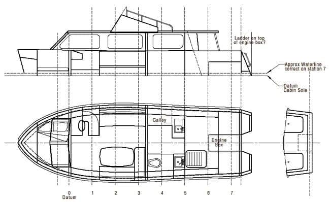 Riverboat redesign for Murray River - storerboatplans.com