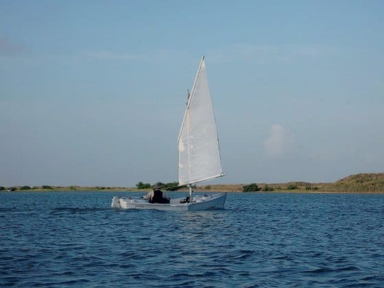Cheap Hack - improve Sailboat Upwind Performance by...