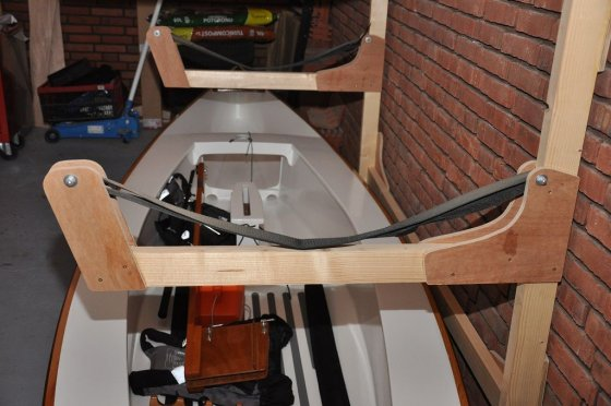 How To Use The Canoe Storage Rack?