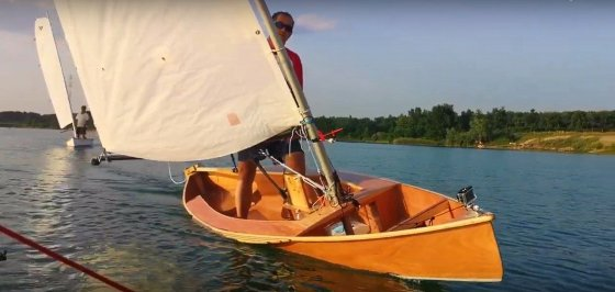 Dance of the Two Violas – sailing canoe extended video