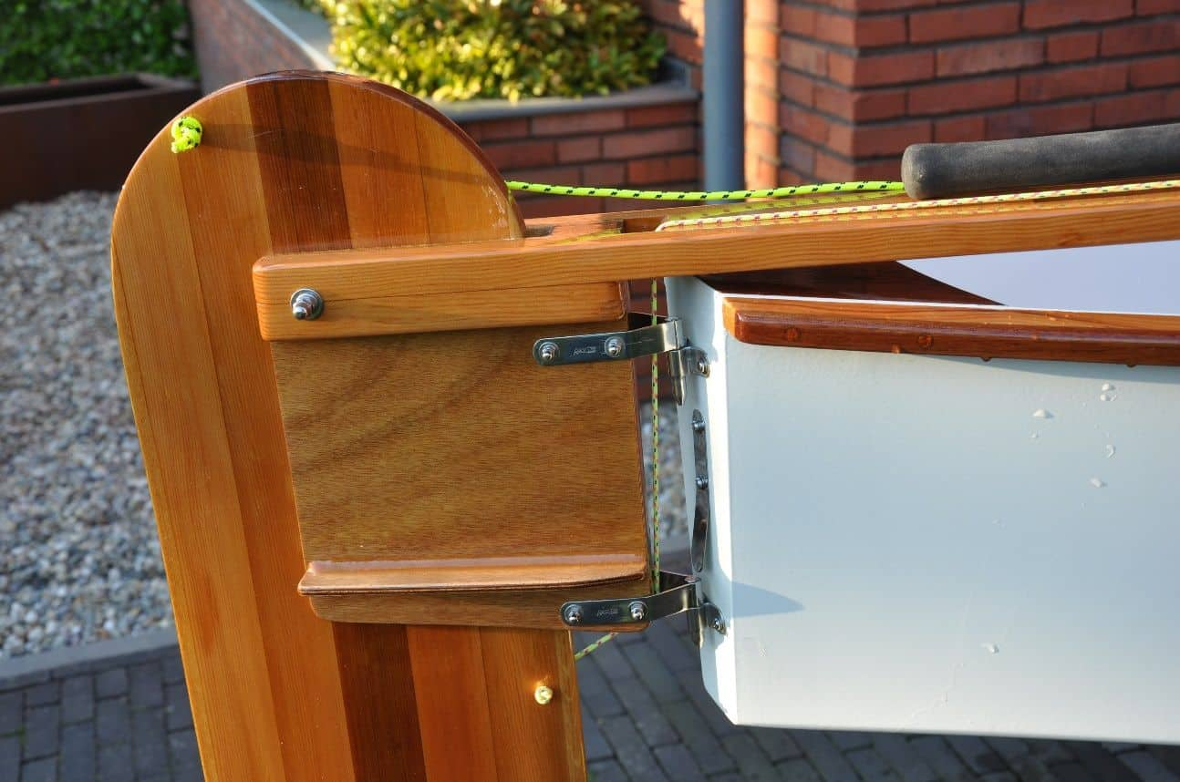 Build a Rudder Box for the Viola 14 sailing canoe and ...